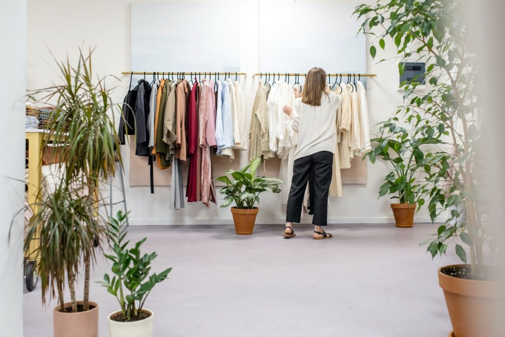 store with plants
